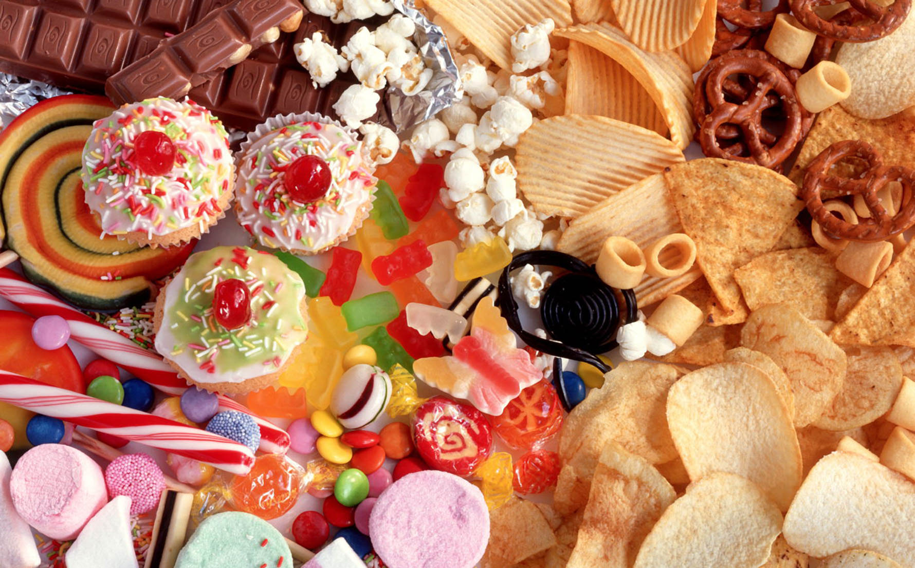 candy chips sweets unhealthy junk food