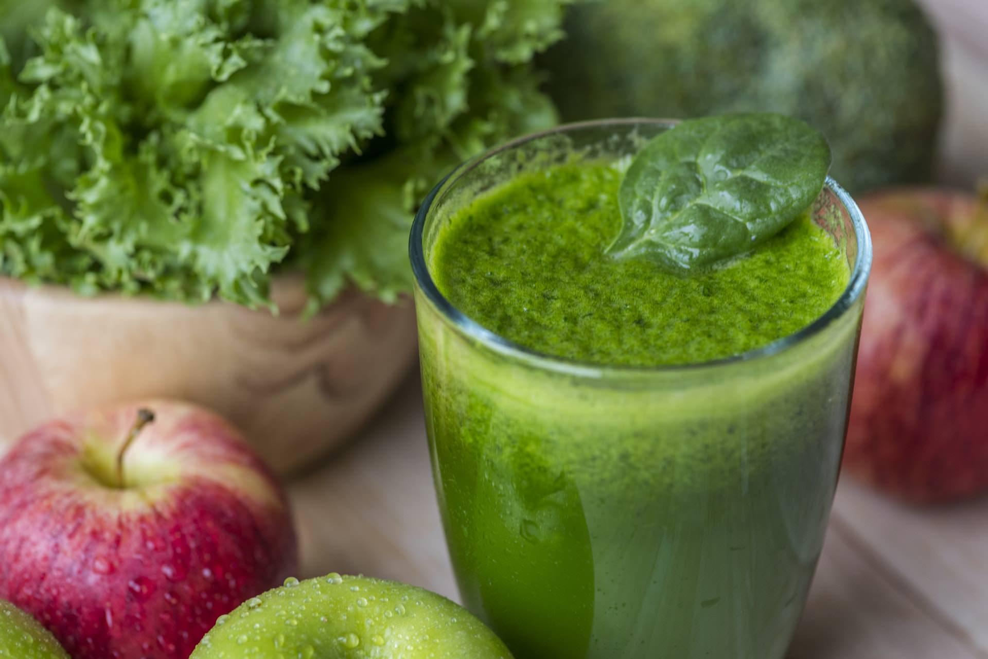 spinach smoothie healthy diet