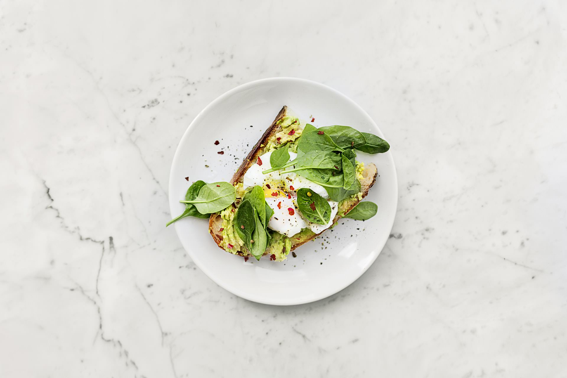 spinach egg sandwich toast