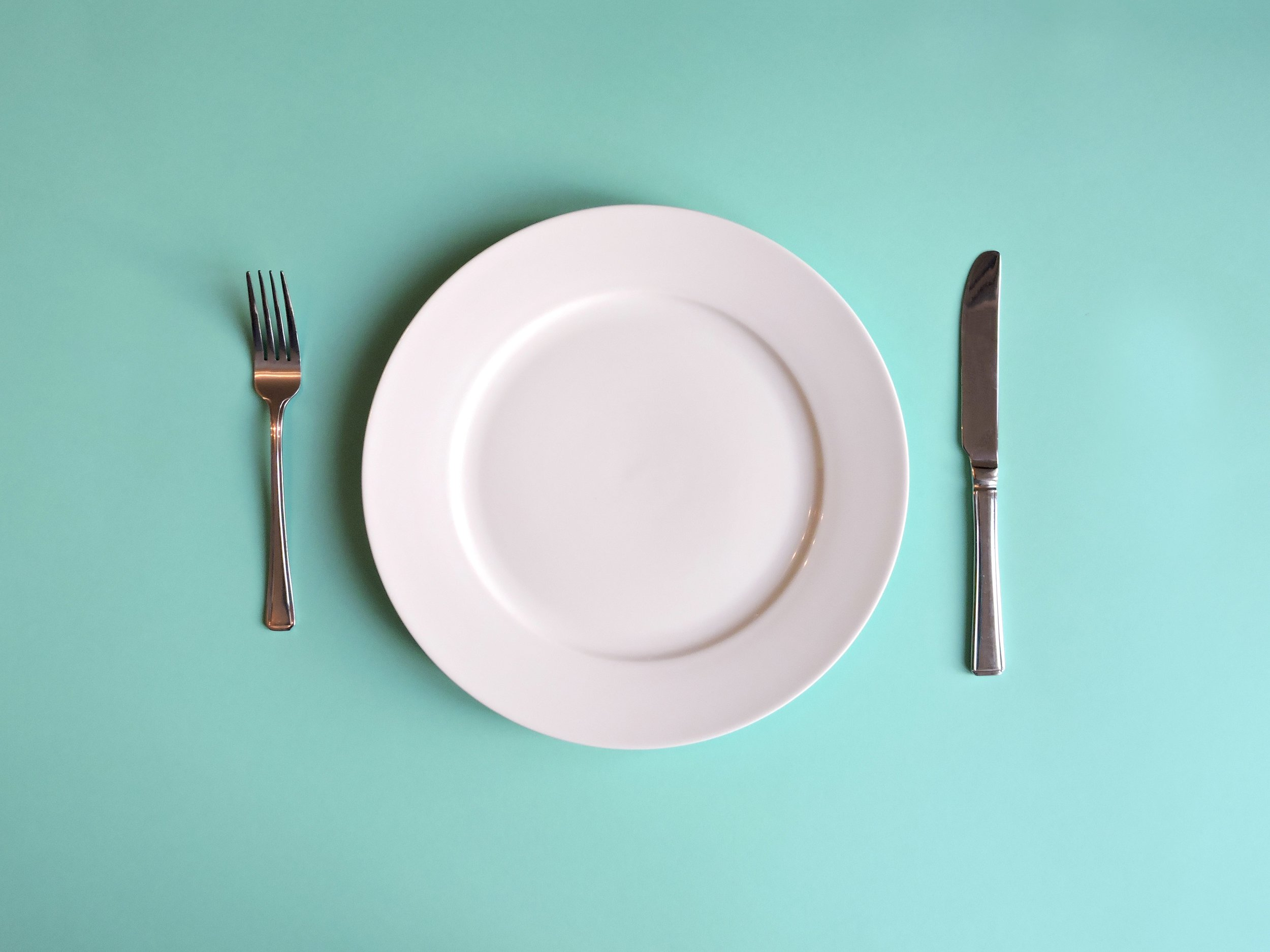 empty plate intermittent fasting