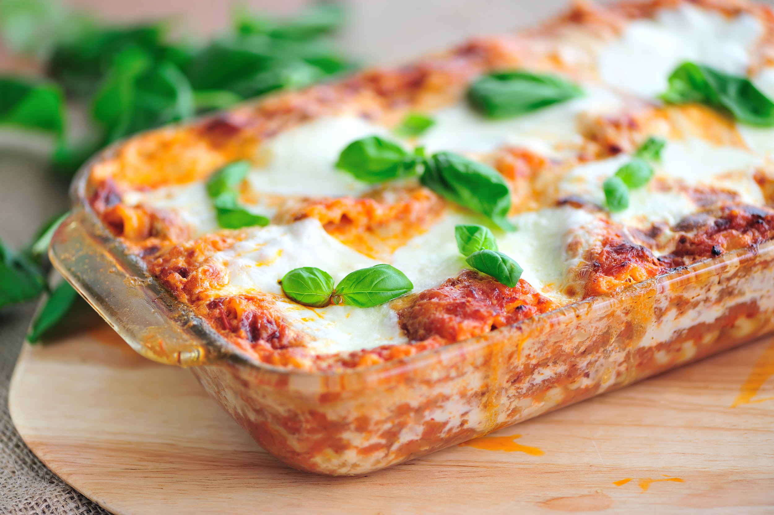 lasagna high protein low calorie