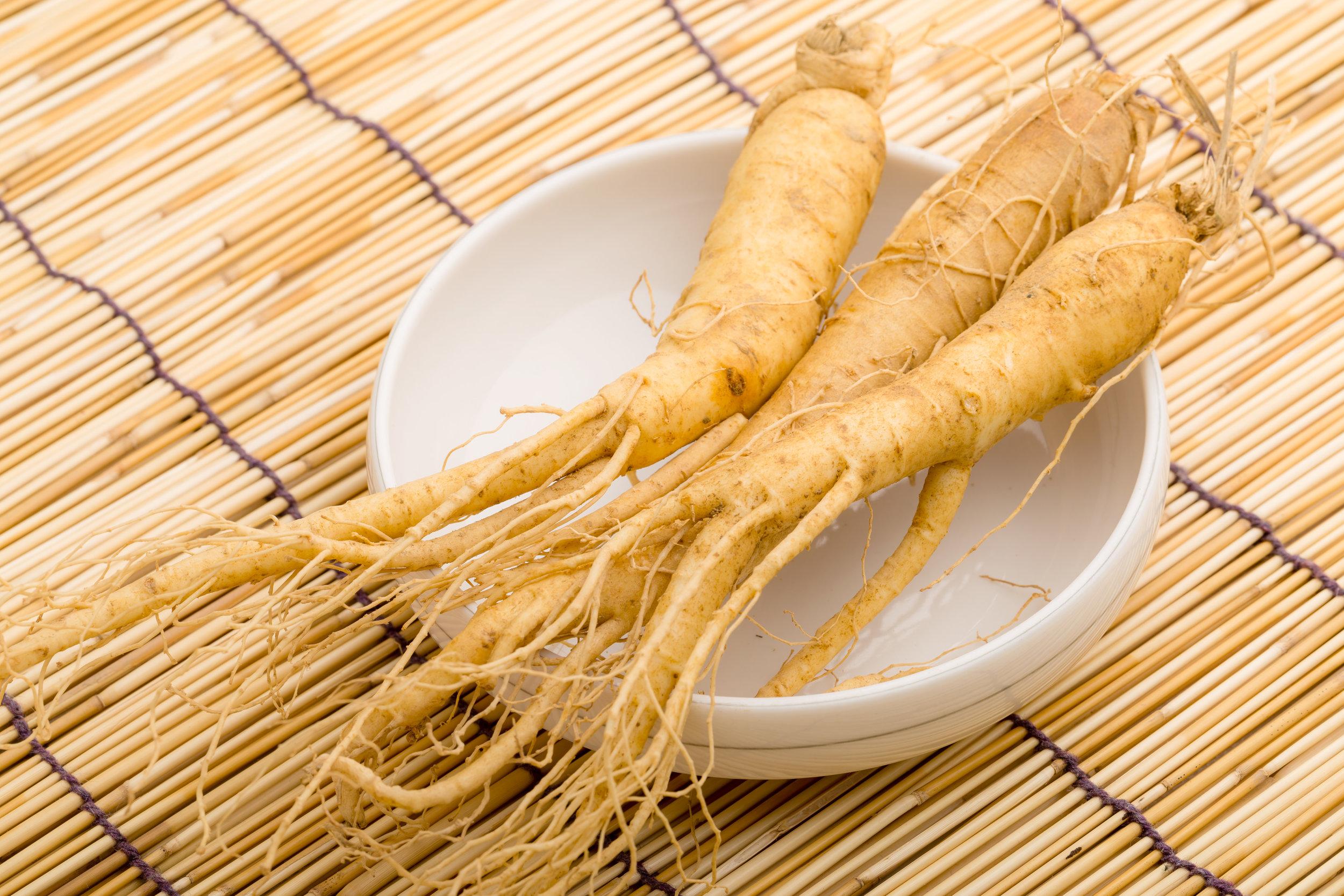 ginseng root bowl