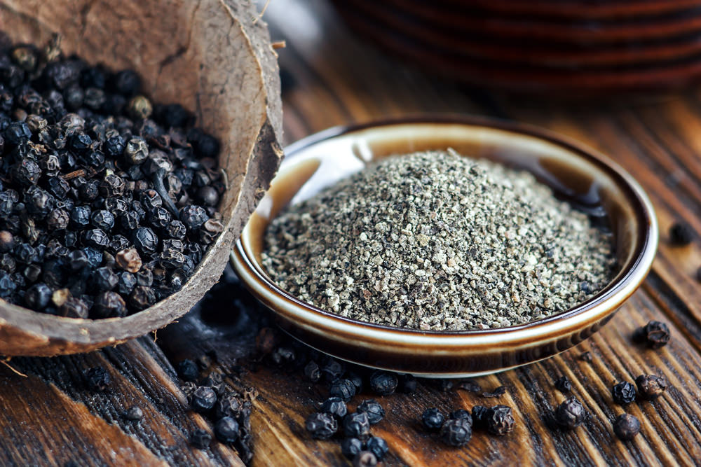 where does black pepper come from