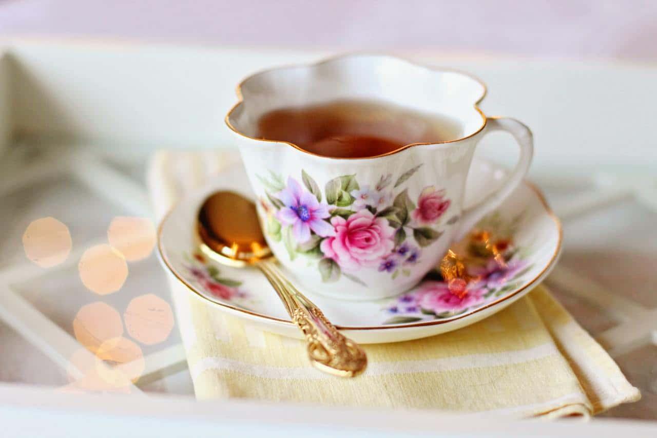 fancy cup of tea