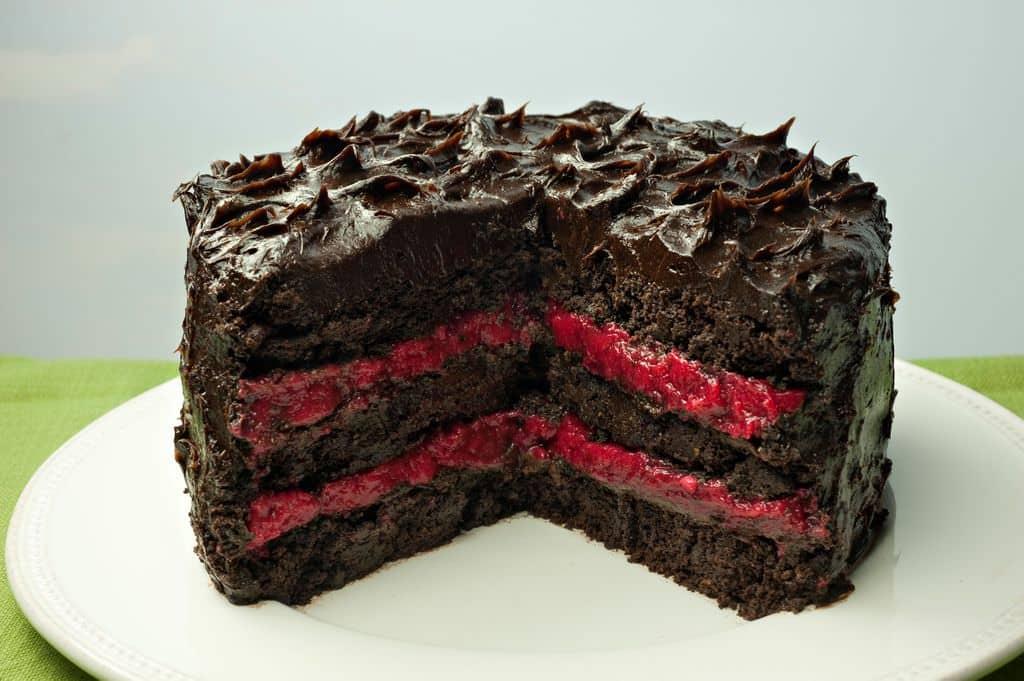 dark chocolate cake no sugar