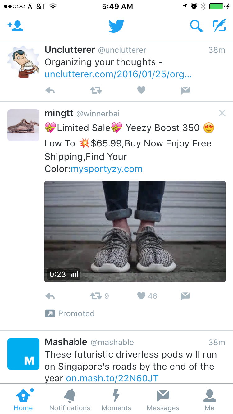 Lisa felt compelled to show you an example of the  counterfeitshoe ads  she sees all. the. damn. time. on social media. Via  @thefashionlaw