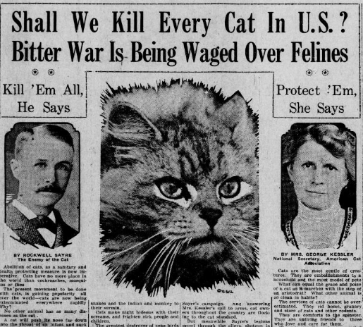 washingtonpost :      Imagine if this cat-hating banker from the 1920s had lived to see the Internet .      Just saying.