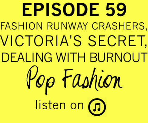 EPISODE 59   This week Lisa starts the show with a very important  PSA . In fashion hot topics,  Nasty Gal  isn't growing as fast as a certain #girlboss would like (but Warby Parker is making HOW MUCH per square foot?), a disgruntled neighbor crashed  Australian fashion week , and  Victoria's Secret  launched a design schedule that is more in line with its fast fashion competitors. Also, is the tween market a viable business or are companies like  Justice  segmenting their audience too much to be profitable? American Apparel is in the news again regarding their  new advertising campaign  and because one of their shirts was (allegedly)  copied  by a luxury apparel company.   Our main topic for this week is  burnout ! Are you suffering from burnout? Lisa and Kaarin explore the definition of burnout,  explain the warning signs , and disclose personal stories about times they have experienced the  stress monste r known as burnout.       LISTEN LISTEN LISTEN
