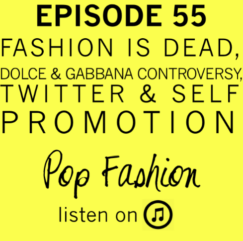 """LISTEN to EPISODE 55   This week in hot topics - a designer surprises everyone with genderless clothes, Sears is tanking when it comes to sales (but, are they becoming the most lucrative landlord ever?), and Target is cutting jobs but ramping up technology. In other news, is fashion dead? Trend forecaster Li Edelkoort boldly proclaimed that, """"It's the end of fashion as we know it,"""" in Dezeen Magazine. Finally, have Dolce & Gabbana lost their minds? Elton John and Courtney Love are heading up a boycott of their clothing brand. Find out why."""
