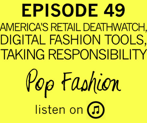 Episode 49. It's here for you.  This week in hot topics - Kate Spade Saturday is finished and Jack Spade is closing their stores (but staying online). Bonne Bell (the store behind your favorite Lip Smackers lip gloss) is shutting down, and Jones New York is finished. Basically, retail is a mess. In other news, Gap fired their creative director, Chip Wilson stepped down from Lululemon, and Tommy Hilfiger is completely changing buying through technological innovation. Our main topic is about business responsibilities! What do we expect when dealing with businesses? Are those expectations too high or too low? And, can business practices translate into our personal lives? Come hang out!