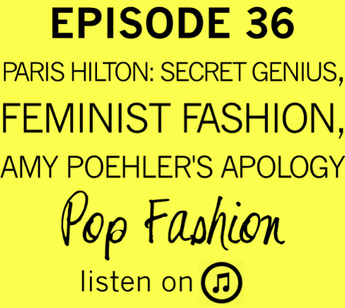 Episode 36  is here to satisfy all your giggling autumnal needs. As if you had those sorts of needs.   This week in hot topics - a ring designed to prevent assault is out on the market. It's a good idea, but what does it say about our current state of affairs? Also, is Paris Hilton a secret business genius? In other news, a feminism t-shirt was made in a factory that has less than stellar labor conditions for female workers. And, is Sephora set to take over the beauty market in India? Finally, eos lip balm is turning heads and making some serious money (in part because of clever packaging). Our main topic this week comes from Amy Poehler's new book  Yes Please . In it she reveals a difficult apology moment. Kaarin and Lisa discuss apologies - when they should be given, when they don't matter, and why they are so darn hard.      You know, once you post something on the wrong Tumblr it's a big old pain to move it. SO HERE YOU GO KIDS