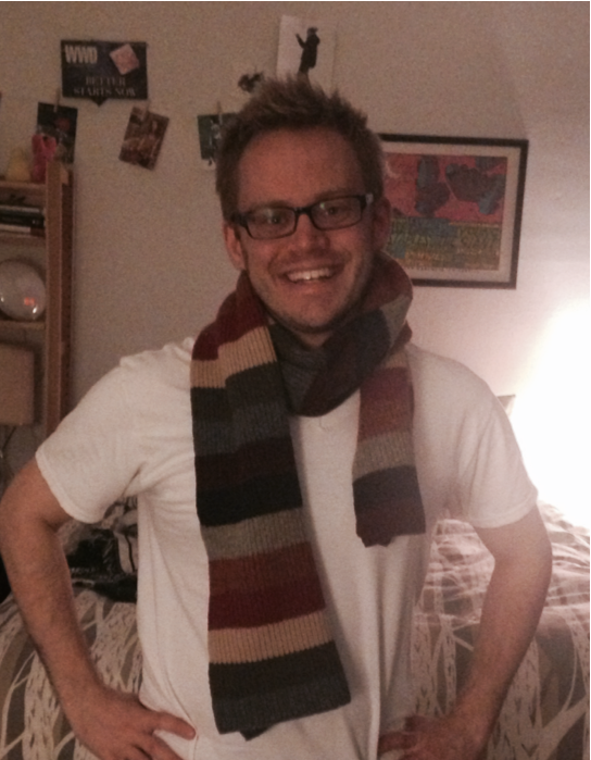 Jeff's 2002 Gap love train scarf