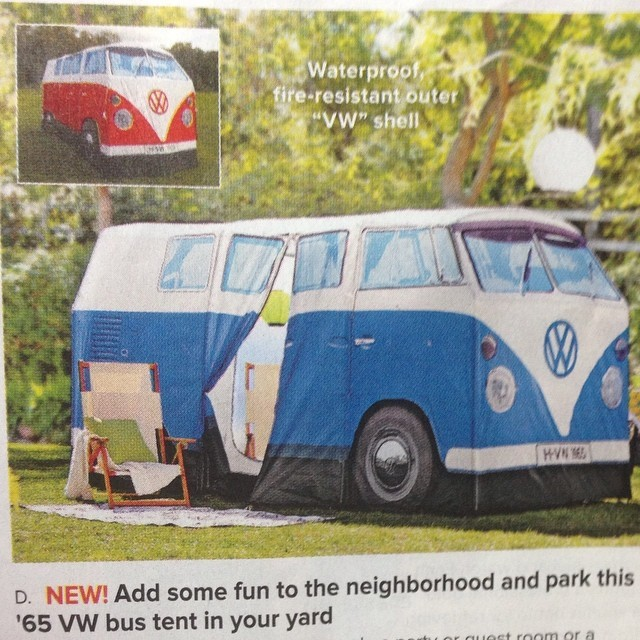 laurenashleybishop :     ADD SOME FUN     Lisa's dreamed of having a VW bus for a long time, but I'm not sure this is the next best thing.