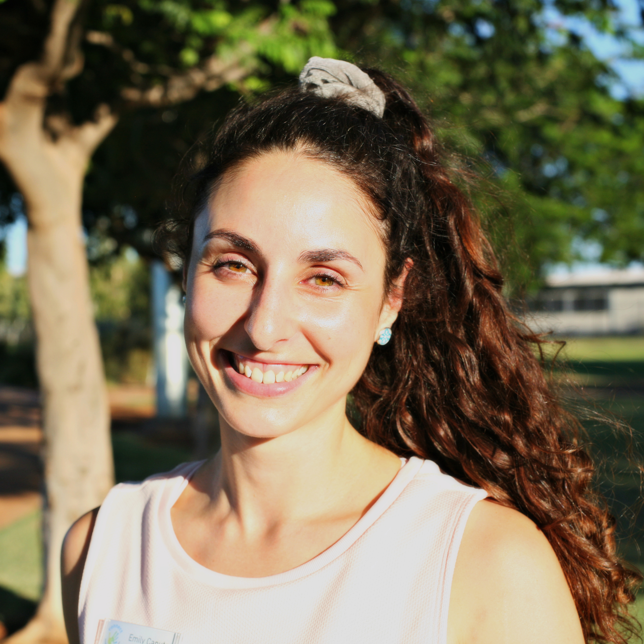Emily Caputo    Physiotherapist   Emily graduated from Physiotherapy at Curtin University in 2015 and joined the Connect team at the beginning of 2019. She has completed an APA Level 1 Paediatric Physiotherapy professional course and continues to develop her skills with any opportunity that arises.  Emily loves working with both children and families to help achieve their goals by providing a fun and relaxing environment. She uses a strength based approach incorporating your child's interests to help improve development and movement difficulties to enable them to participate in everyday activities, like playing and learning. Emily works closely with the other health professionals in the team to optimize your child's program. With the help of our allied health assistant Chelsea, Emily has created a social sports group which they both run twice a week.  She can be a big kid herself with a huge love for everything Disney, video games and sport. Emily loves to be in the Pilbara outdoors and is a member of multiple sporting clubs in Karratha.