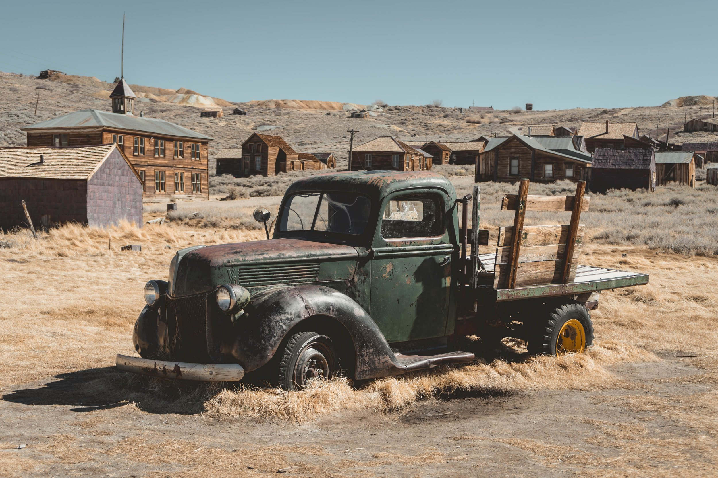 Rusted - Bodie, CA 2018I was excited like a little kid when I found this magical place, Bodie. It's a ghost town sitting in the middle of nowhere, and you have to struggle through a 2-mile unpaved road to get there. The buildings, cars, furniture... everything is like frozen at that time frame in early 20th century, and you will become a time traveler stealing a glimpse of the details of people's life hundred years ago.