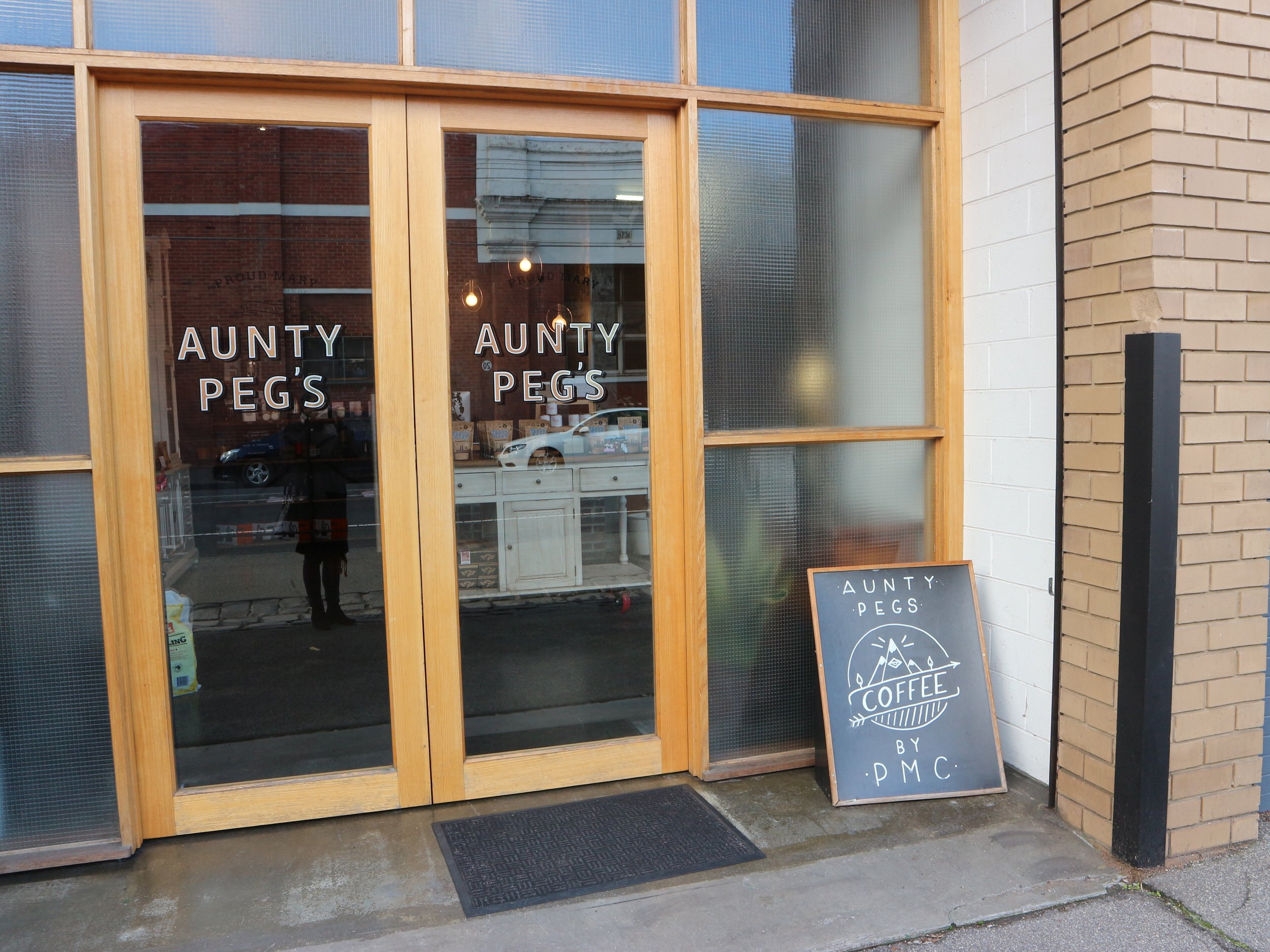 Aunty Peg's by PMC.