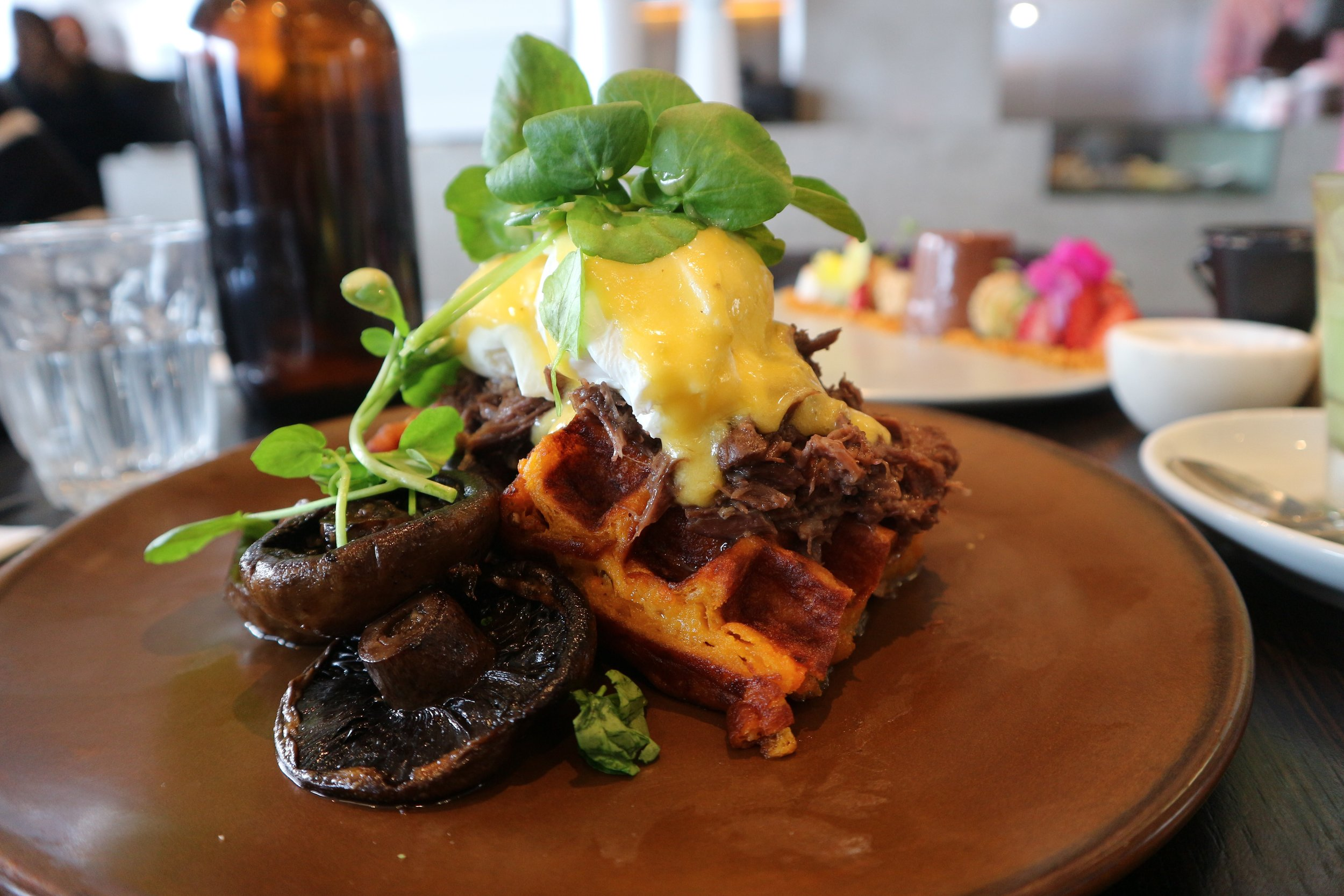 The Penta Benedict - Penta's signature brunch dish that combines everyone's favourite breakfast with the charming sunday roast... so good!