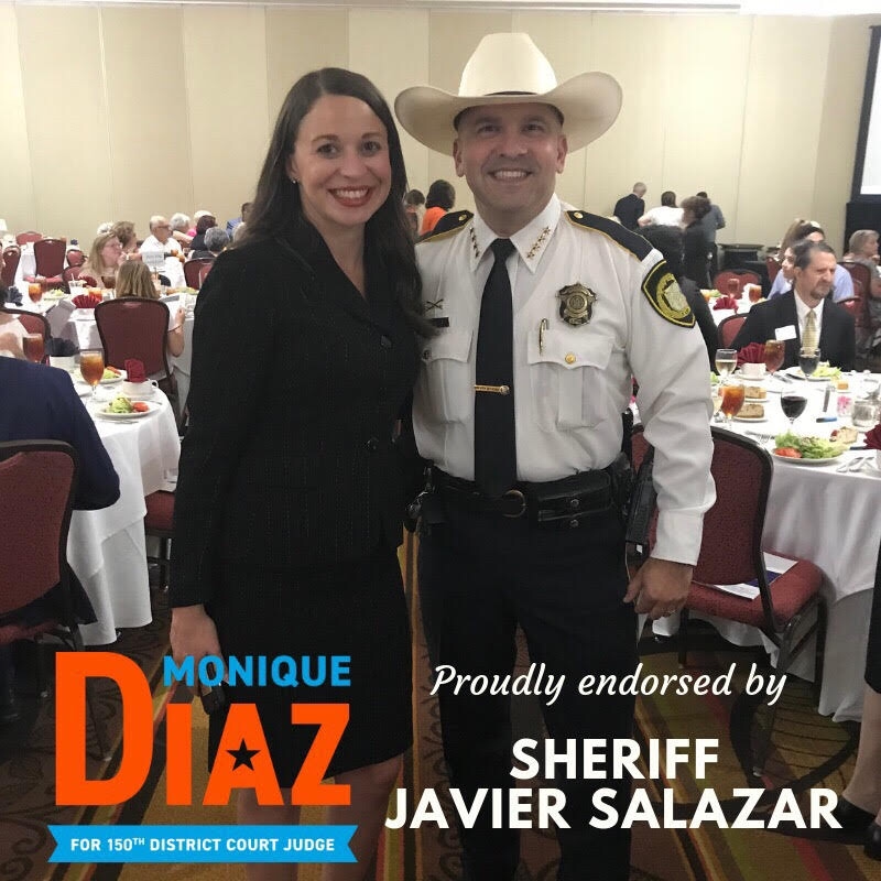 Sheriff Javier Salazar -