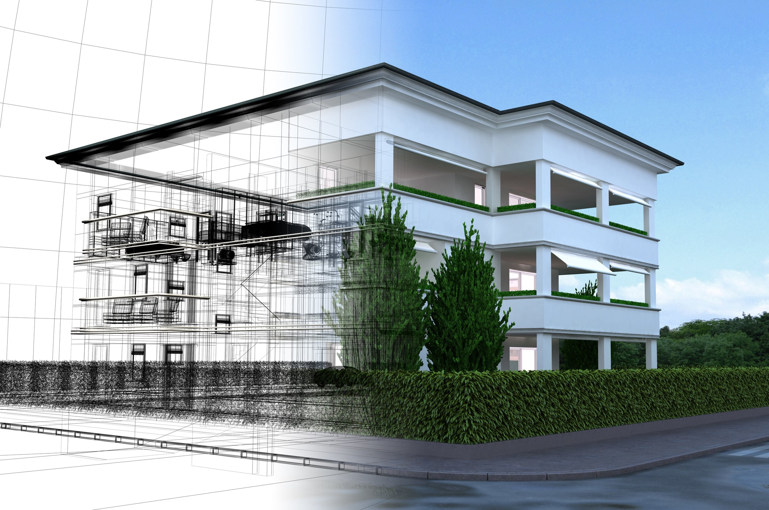 Visualization - ARCHICAD can produce amazing  out-of-the-box renderings and even virtual reality with BIMX.