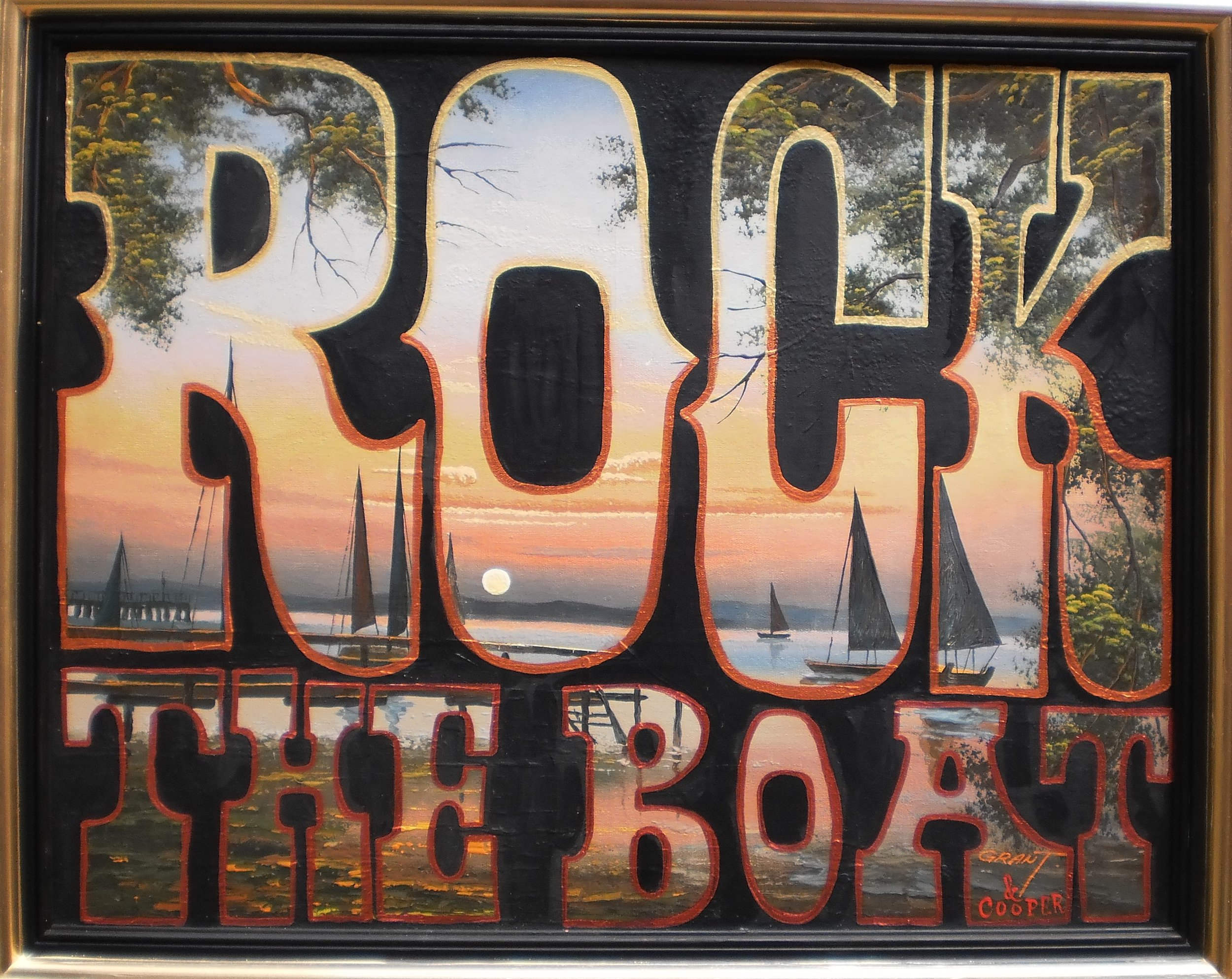 Dont rock the boat, baby!