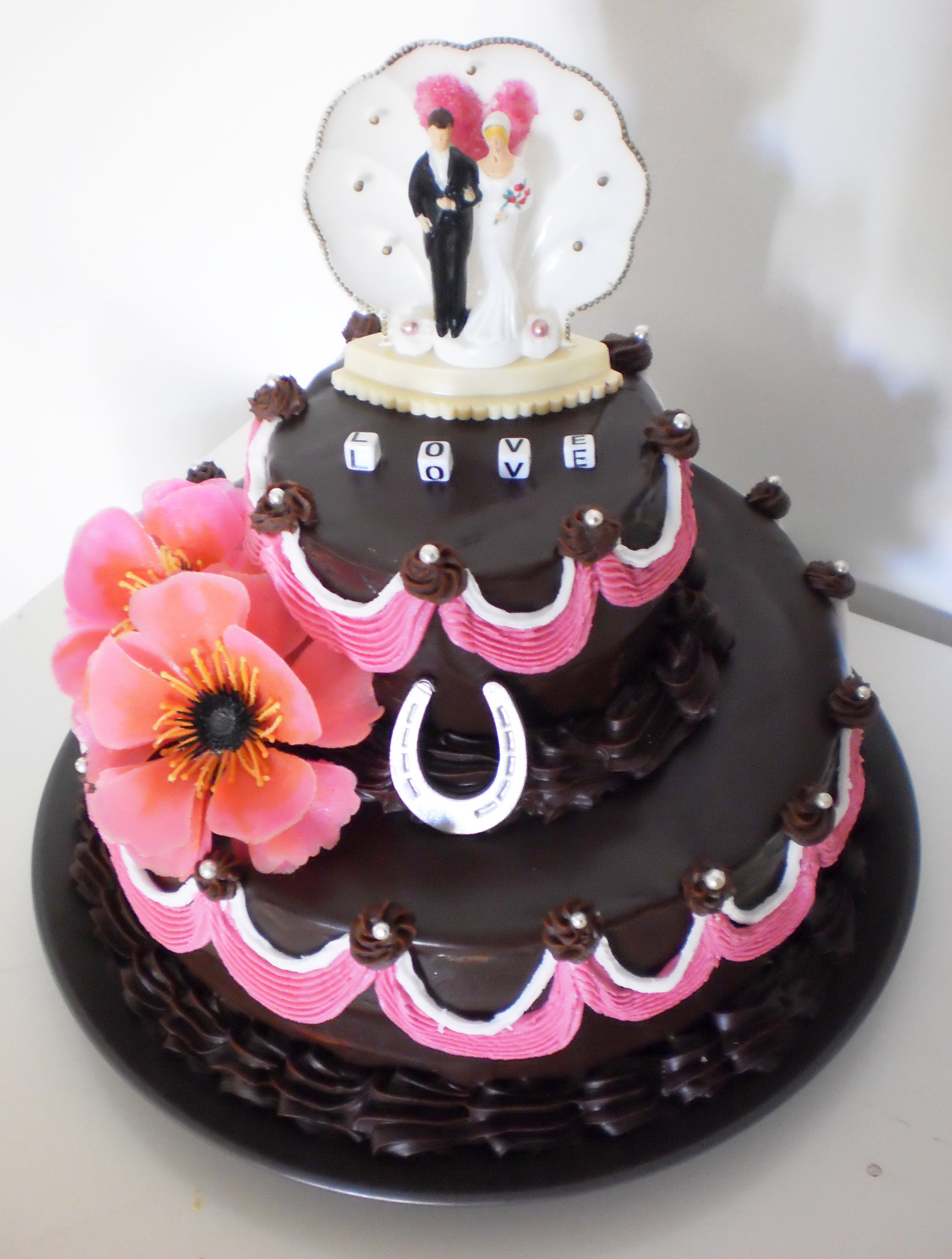 Tiny Wedding Cake for a tiny wedding