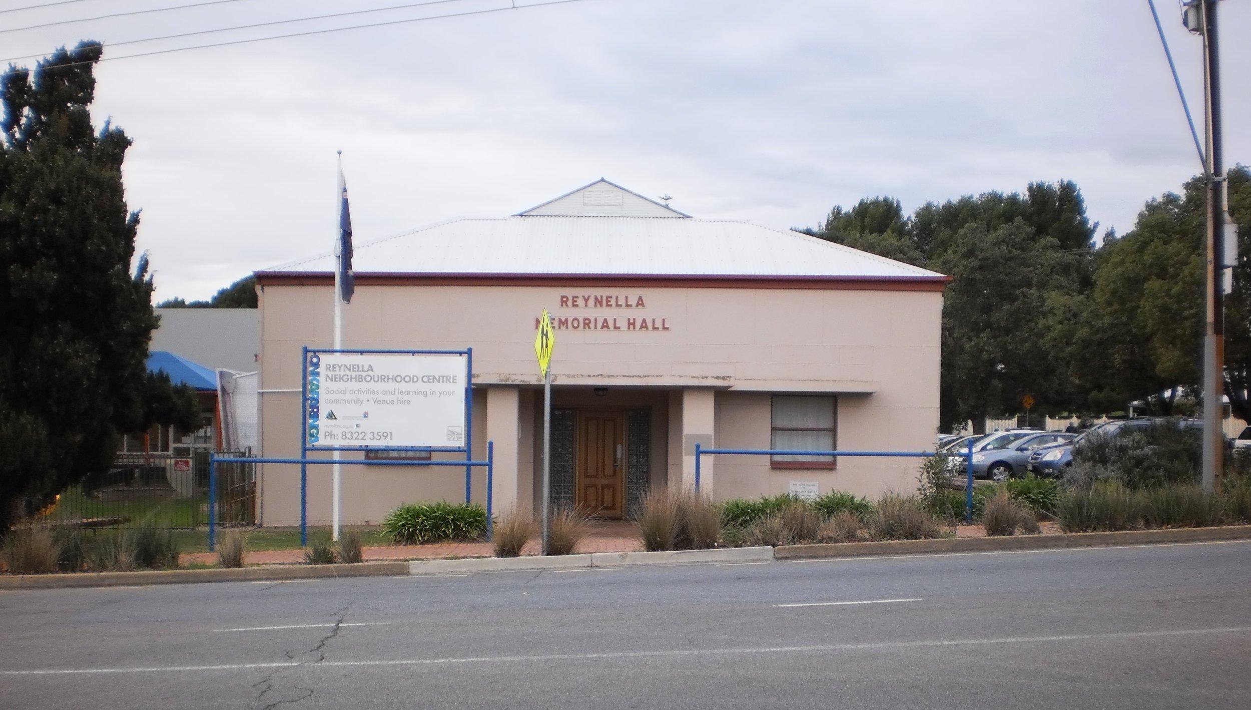 Old Reynella Neighbourhood Centre, Old Reynella