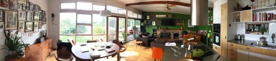 Bridge St living room - AFTER