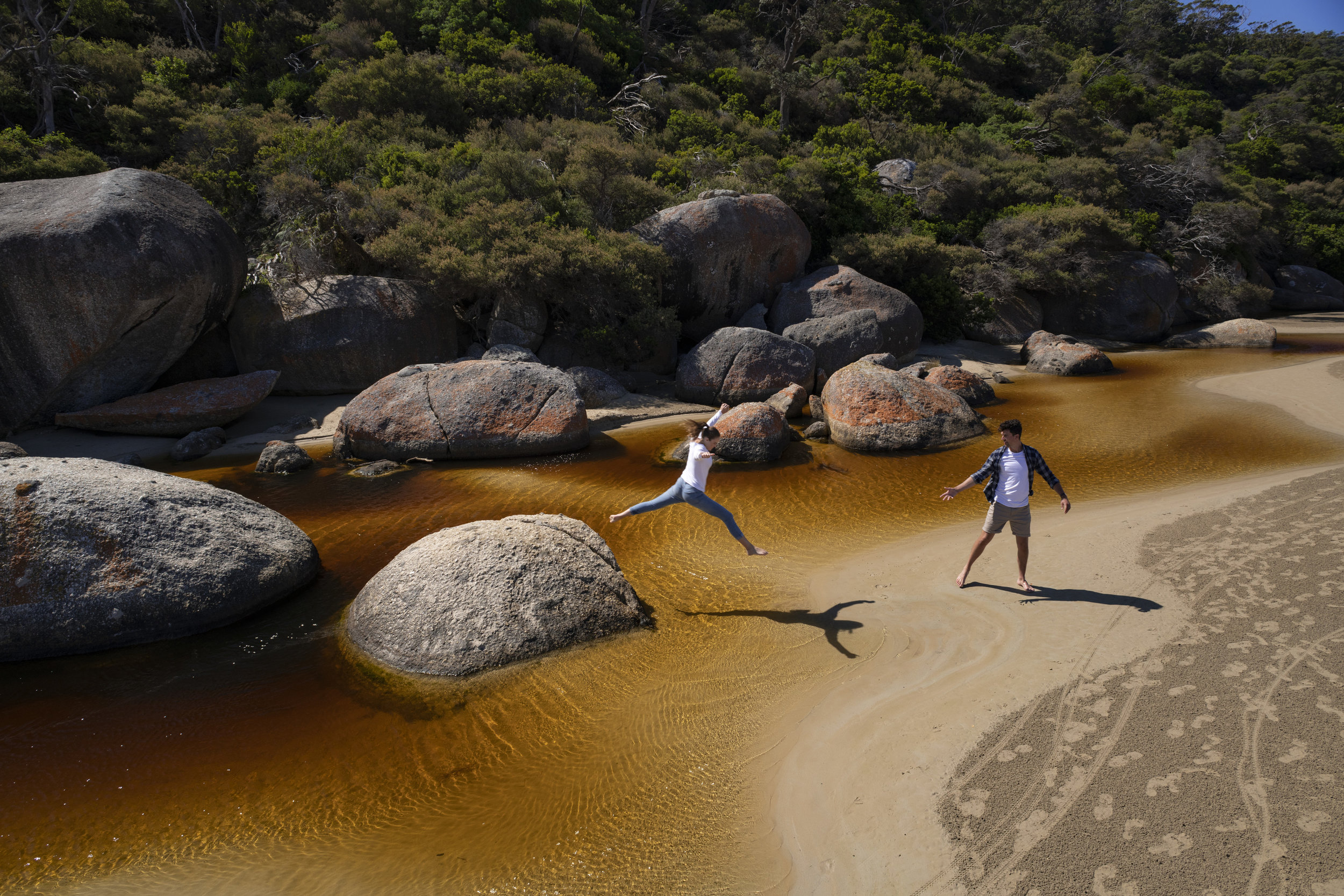 Tidal River roc hopping.jpg