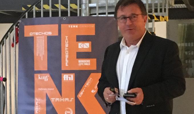 Tor Arne Hauge som sto for åpningen