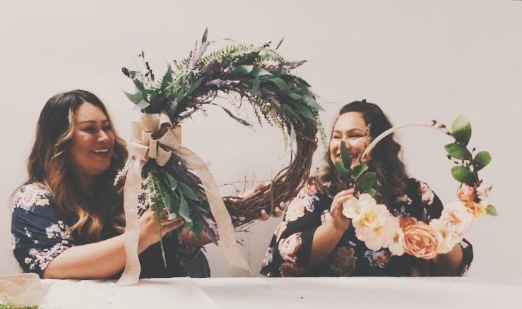 Wreath Tutorial - Create alongside Celeste & Mabel as they walk us through 2 different wreath tutorials.