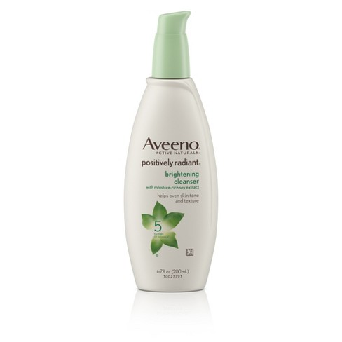 Aveeno Positively Radiant Brightening Cleanser - -Evelyn & Mabel