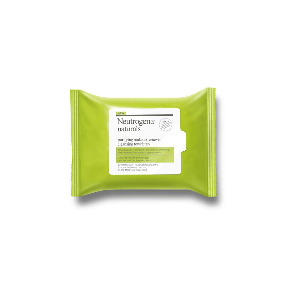 Neutrogena Naturals Purifying Makeup Remover Cleansing Wipes - -Celeste