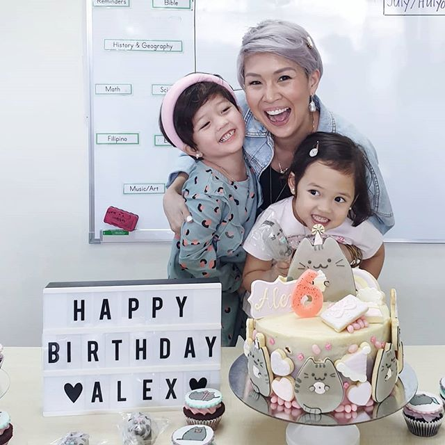 Dearest Alexis,  You have taught me that true love is beyond being heartfelt. With a tender spirit, true love can conquer all. 💕 Happiest birthday, sweet girl!  You make me so proud to be your mama. Make a wish, baby.  Love, Mom  #reginaalexis  #birthdaygirl . .  #coocake by @thelittlewhiskph @sinfullysabrina