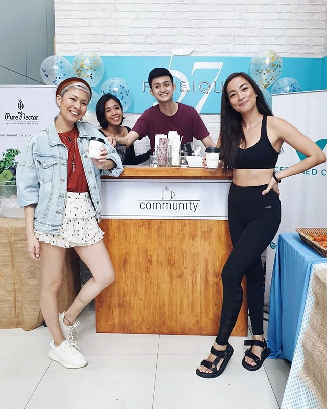 Pre and post workout jolts from us at @communityco_ for these fitness buffs at @physique57manila, in celebration of their first anniversary! What an awesome community they have created in the span of 12 short months. Big huge congratulations to this amazing team! 🎉 Hey! Wanna try us out? Serve your guests amazing third wave coffee beverages and book us for your next event or gathering! I'll be there too with a cup in hand, making mando mando but not actually working. Half kidding. 😂☕#goodpeoplegoodcoffee #trylocalph #wheninmanila #spotph
