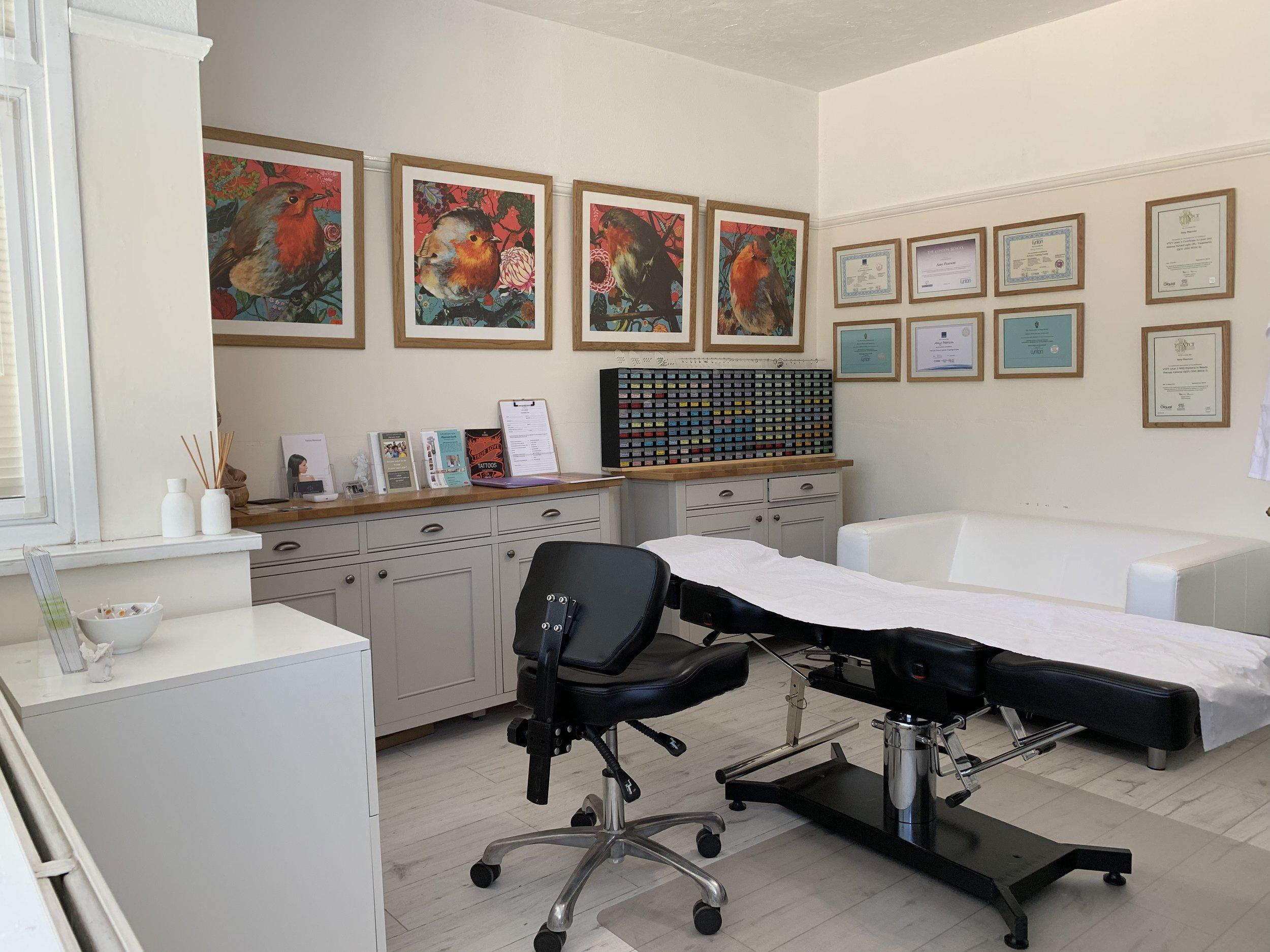 Our private studio