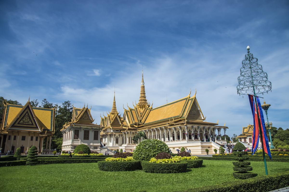 Cambodia - From Laos we headed south to Phnom Penh in Cambodia.