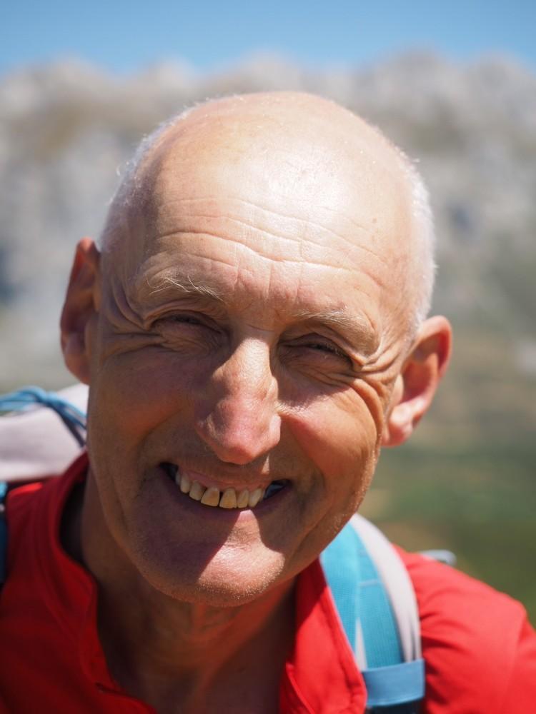 Alf Robertson, Ramblers Walking Holidays Leader