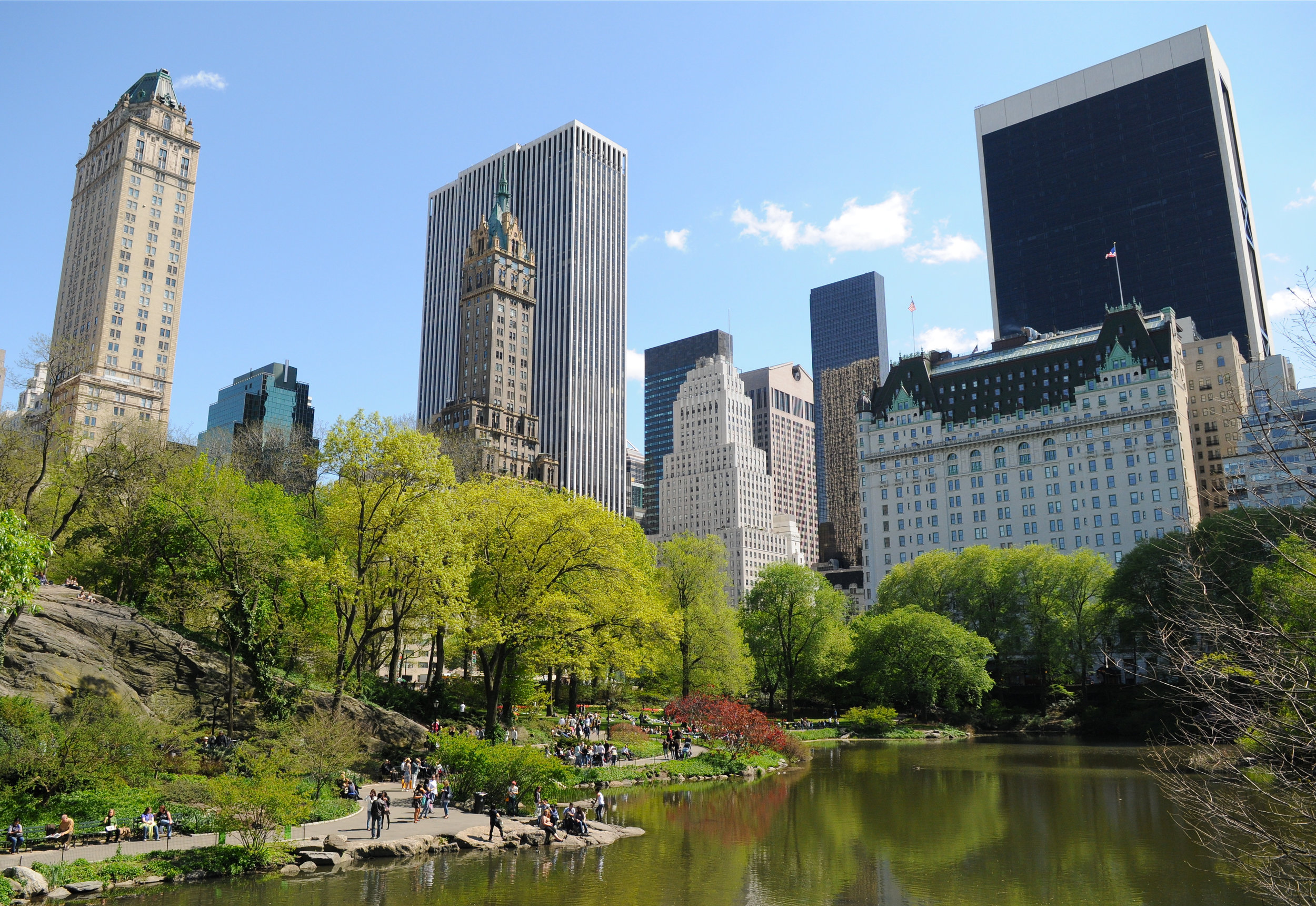 Five Faces ofNew York -