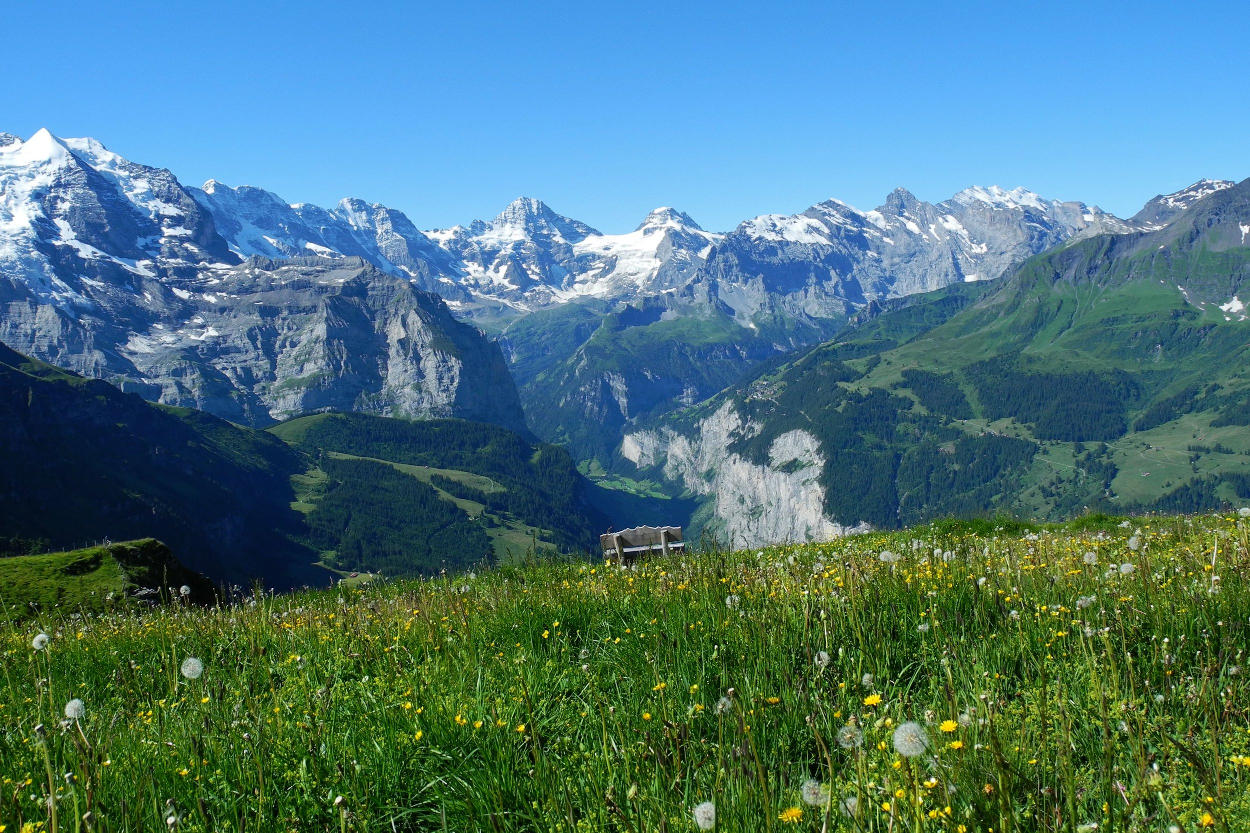The Lazy Alps - Discover heavenly Wengen, a car-free village perched above a stunning Alpine valley.From £1,385