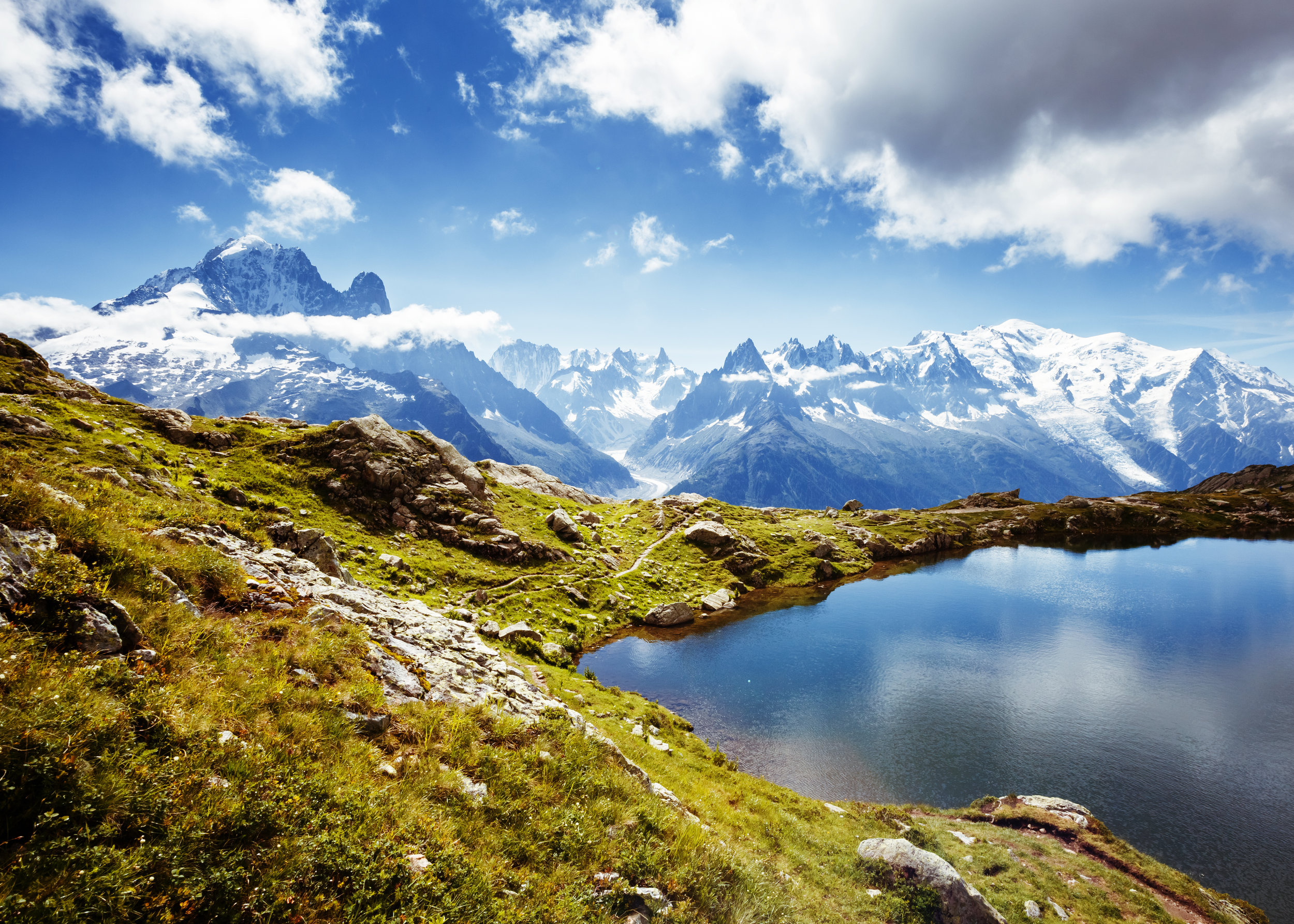 Mont Blanc Hotel Trek - Travel through France, Switzerland and Italy on one of the greatest walks in the world!Walking Grade: Grade 8