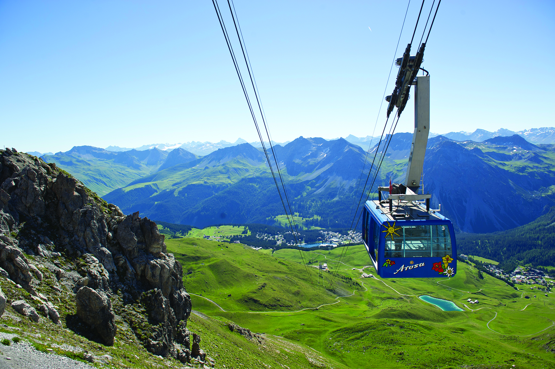 Arosa Village - Journey into the mountains of eastern Switzerland for a holiday full of extraordinary alpine views and walking.Walking Grade: Grade 6 or Grade 7