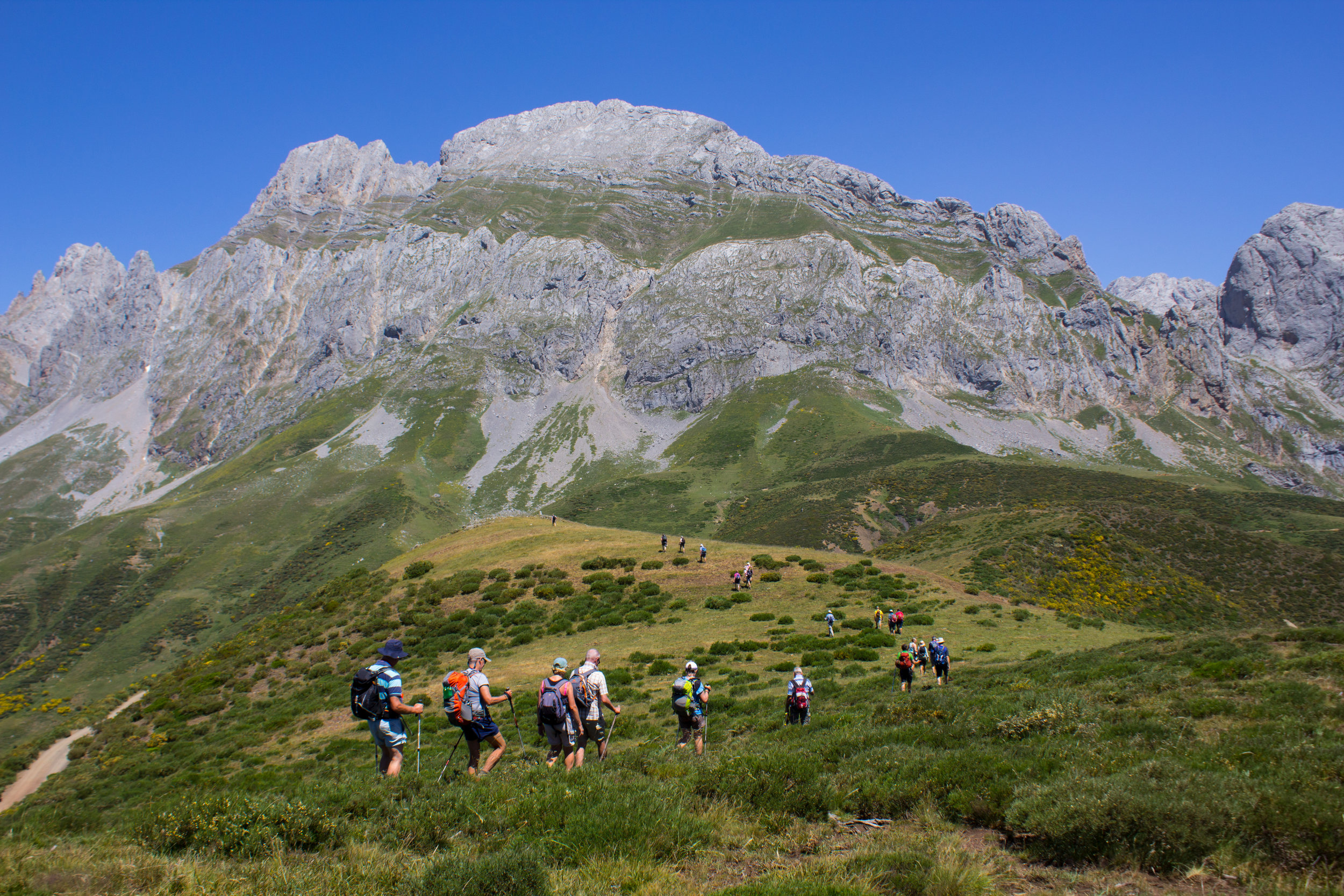 Picos de Europa  (Spain  )    Grade 6 and Grade 7 Walking    from £1,280   Includes: Return flights, transfers, local transport costs, half board accommodation and two Tour Leaders.
