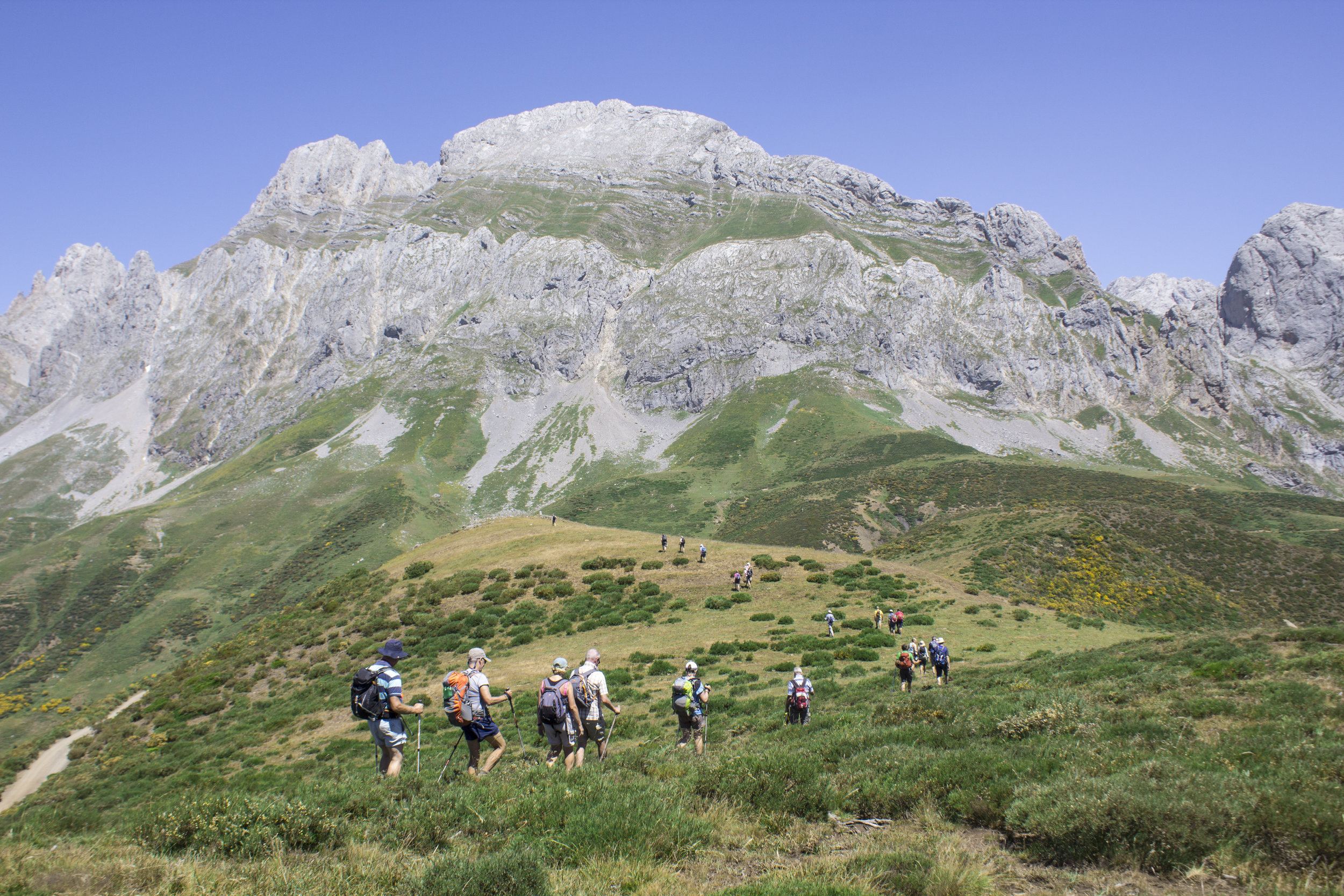 Picos De Europa - Set off on a fascinating journey in Spain, walking and hiking in the rich green landscapes of the Picos.Walking Grade: Grade 6 & Grade 7