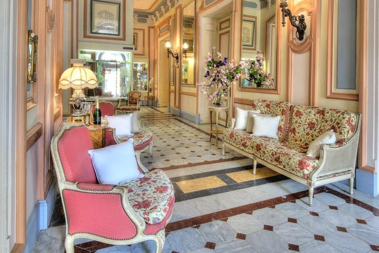 Hotel Vendôme - Nice, FranceA beautifully converted Russian Palace,the Hotel Vendôme has retained its neo-classical architectural style. This picturesque hotel is only a short walk to the sea and a few minutes' walk from the Place Massena.