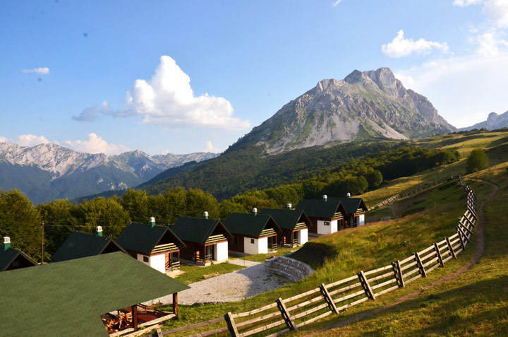 Eko Katun Štavna - Andrijevica, MontenegroEko Katun Štavna sits nestled high in the mountains with a panorama of forests, valleys and peaks to enjoy. These chalets add to the experience of getting away from it all in the peaceful mountains, and are set right on the trails.