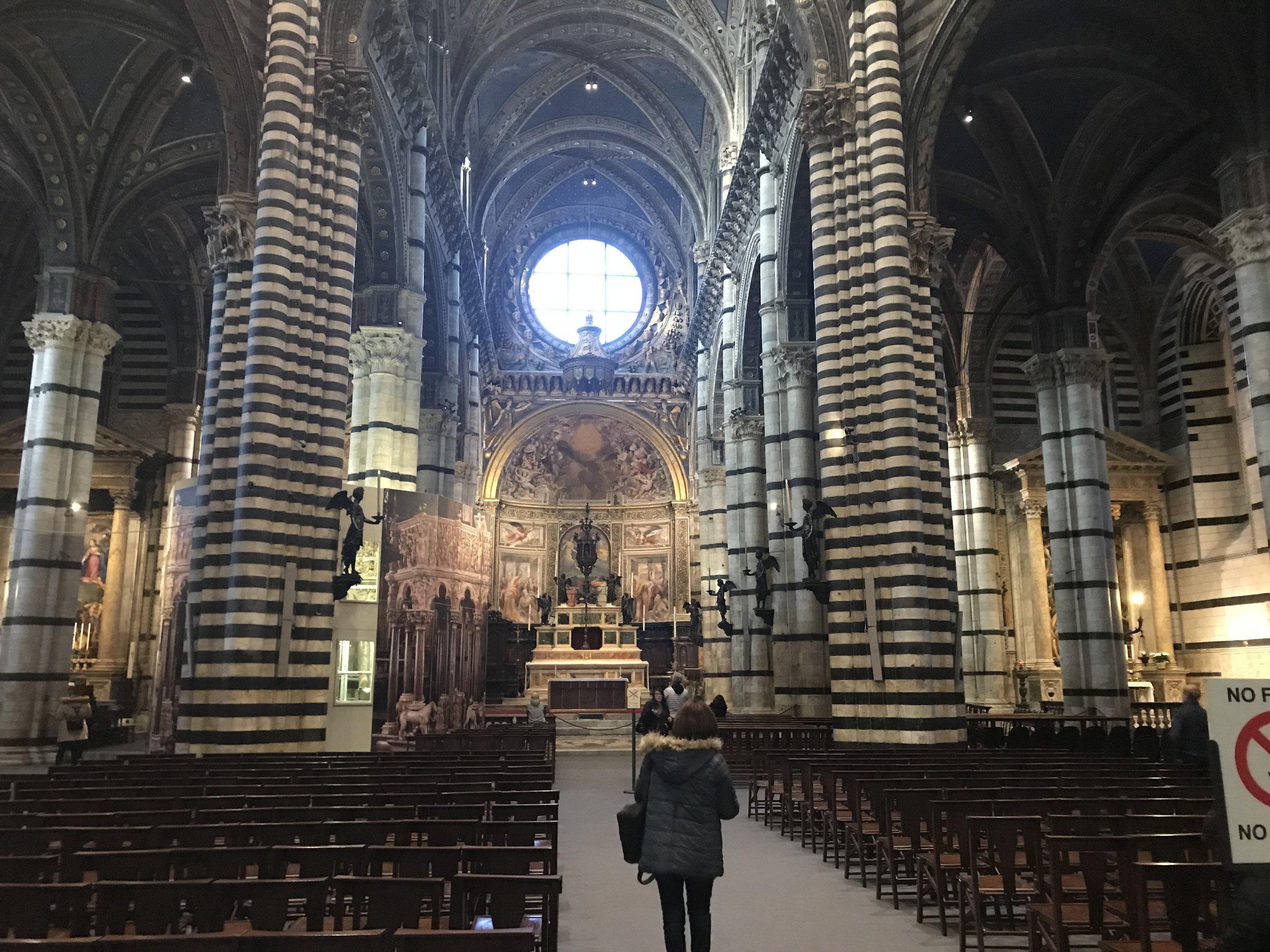 Siena's magnificent Duomo (M Miles)