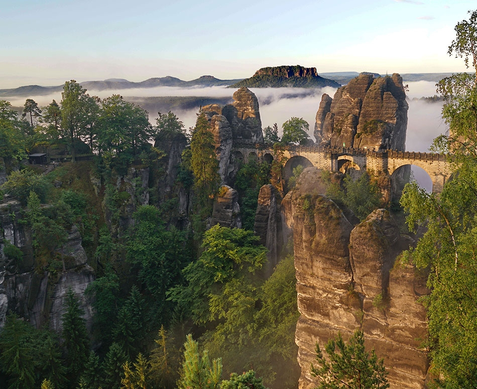 Bohemian Rhapsody - The Elbe Valley, Germany & Czech RepublicSince the 1790s travellers have been fascinated by the beauty, the unique and intriguing landscape, the cultural heritage of Saxon and Bohemian Switzerland.
