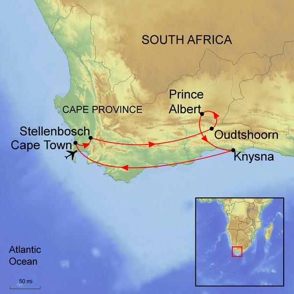 Exploring Cape Province    4 November 2018 - 22 November 2018