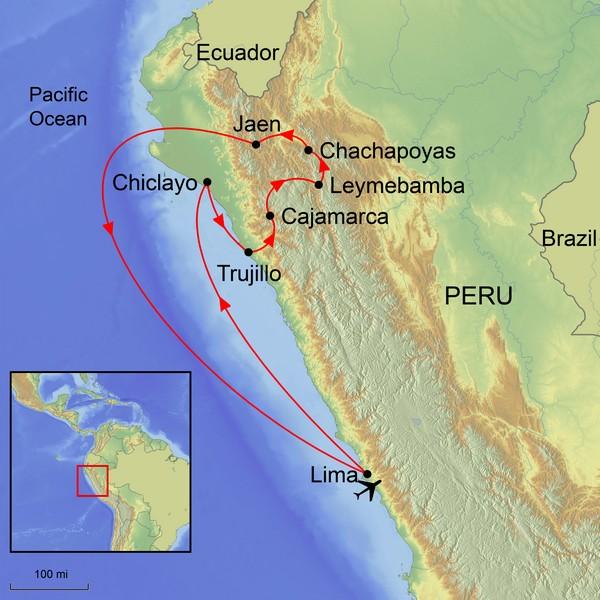 A Journey In Ancient Peru    12 October 2018 - 27 October 2018