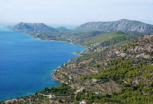 A Greek Experience - Traditional Aegean life on the island of EviaFrom £985
